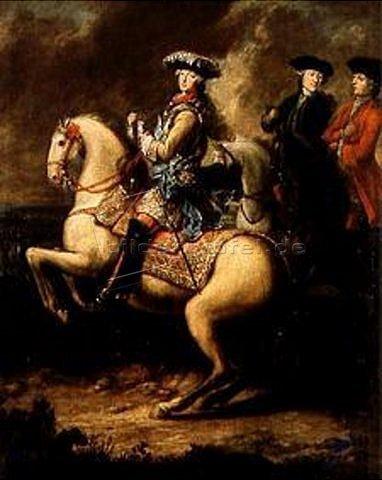 Elector Maximilian III Josef of Bavaria on horseback, cr.1750, George Desmarées, Bavaria, Germany