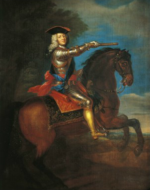 Equestrian Portrait of King George I of Great Britain, before 1723, Godfrey Kneller