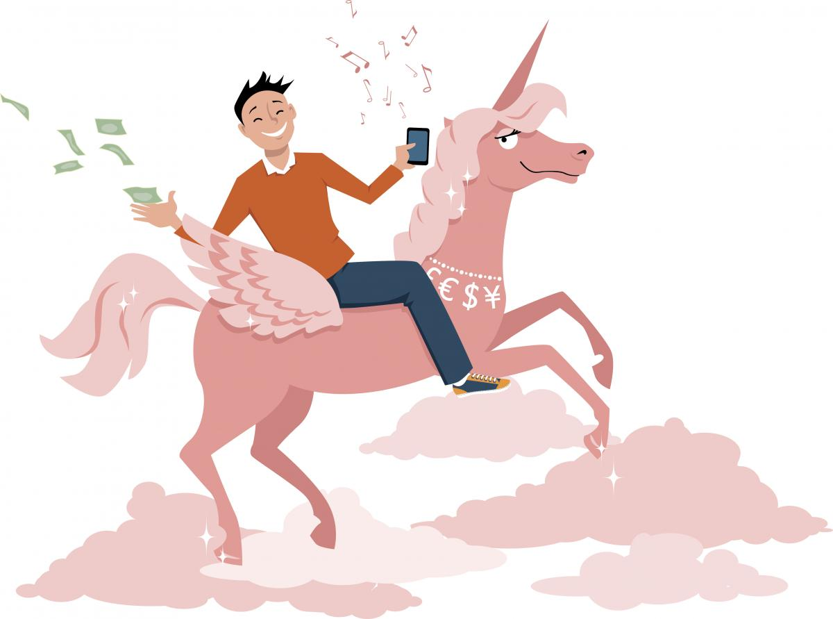 Unicorn start up, Aleutie, 2010s