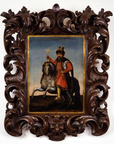 Equestrian portrait of Alexis of Russia, cr.1670-80, unknown