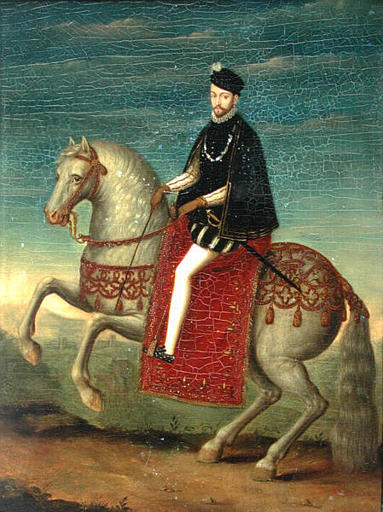 COMPARANDUM: Charles IX, King of France, 1565-99, unknown artist