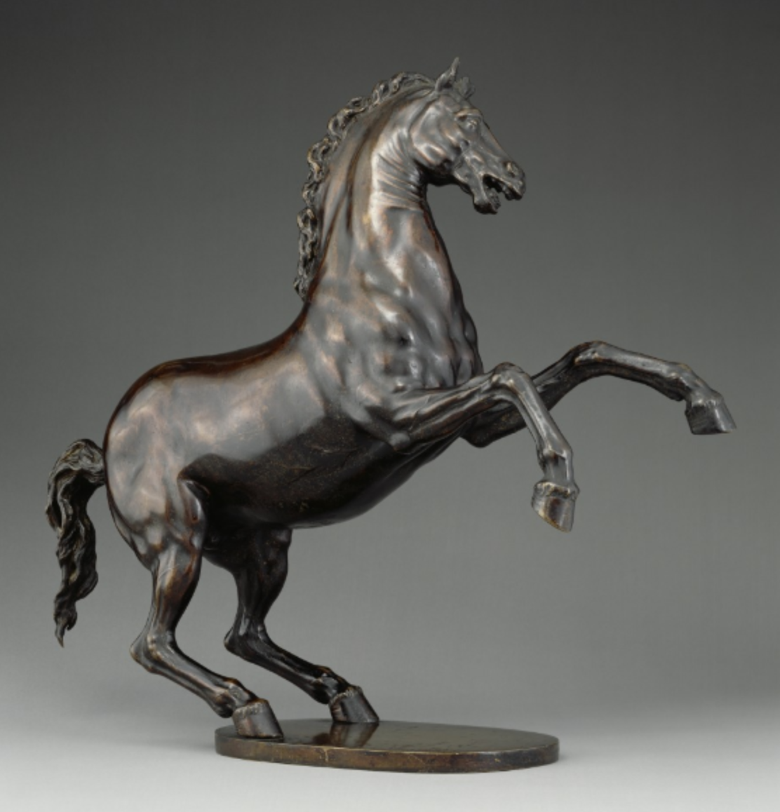 Rearing Horse, 1605-10, Adriaen de Vries, Netherlands