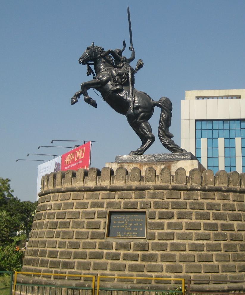 Statue of Rani of Jhansi, 2013, Ahmedabad, India