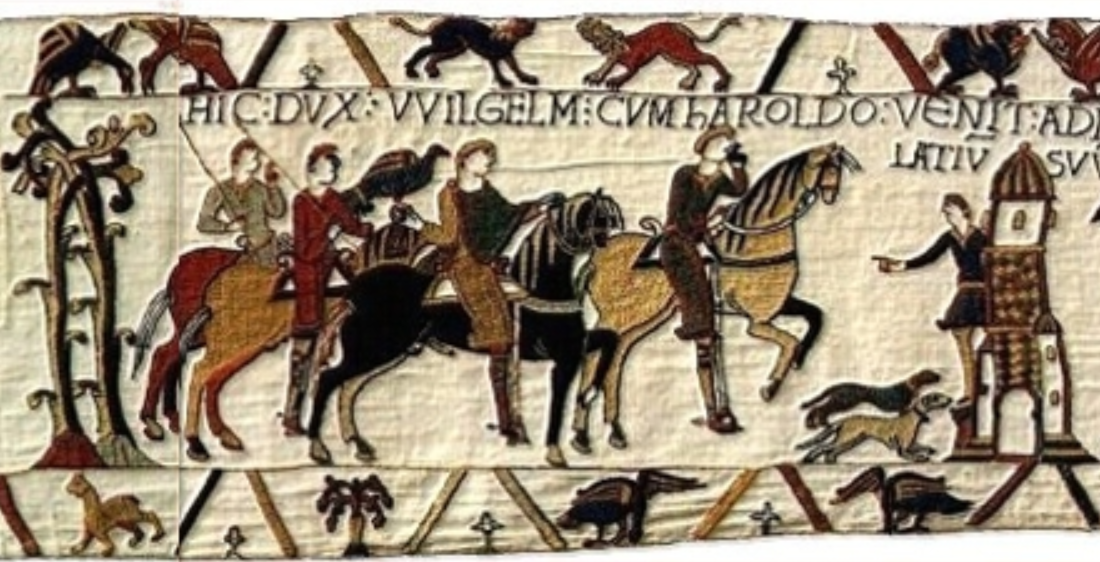 Bayeux Tapestry, France, probably 1070s