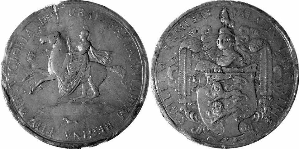 Queen Victoria (1837-1901), Seal of the County Palatine of Lancaster