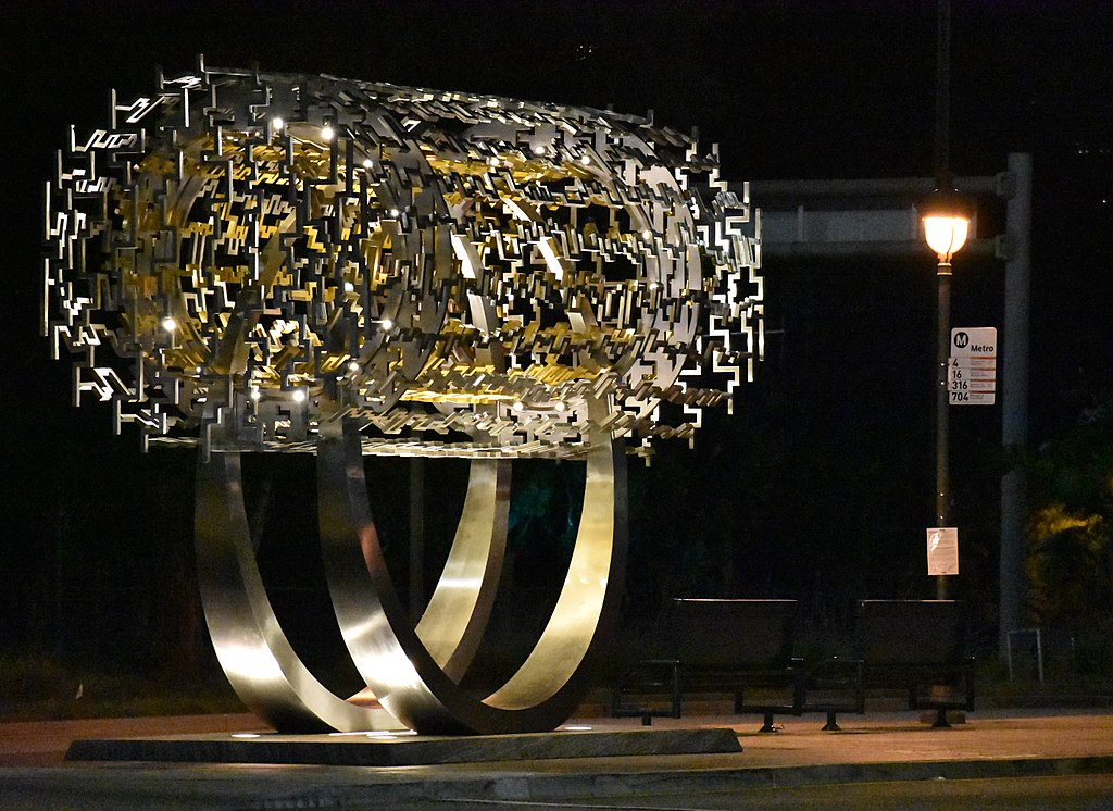 Freedom Sculpture (based on the Cyrus Cylinder), 2017, Beverly Hills, CA