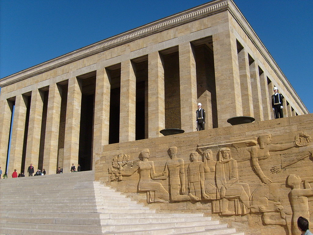 Anıtkabir, the mausoleum of Mustafa Kemal Atatürk, 1944-53, Emin Onat and Ahmet Orhan Arda, Ankara, Turkey