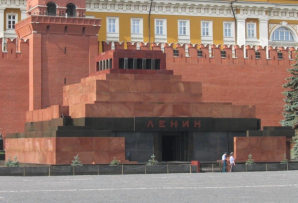 Lenin's Mauzoleum, 1924, Alexey Shchusev, Moscow, Russia