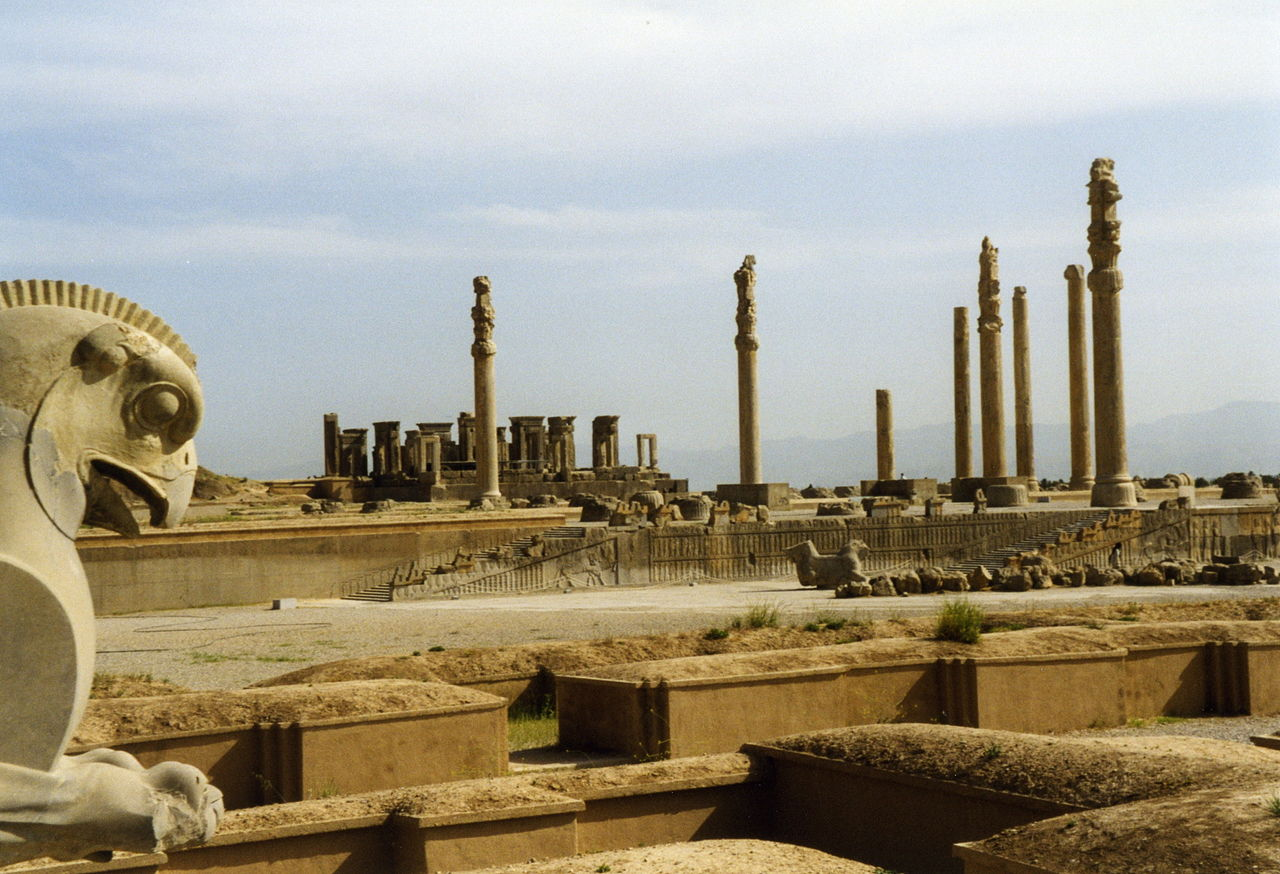 Apadana, 550-500 BC, Persepolis, Iran