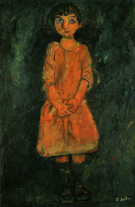 Girl in Pink Dress,Soutine, 1928