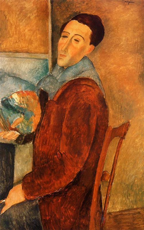 Self Portrait, Modigliani,1919