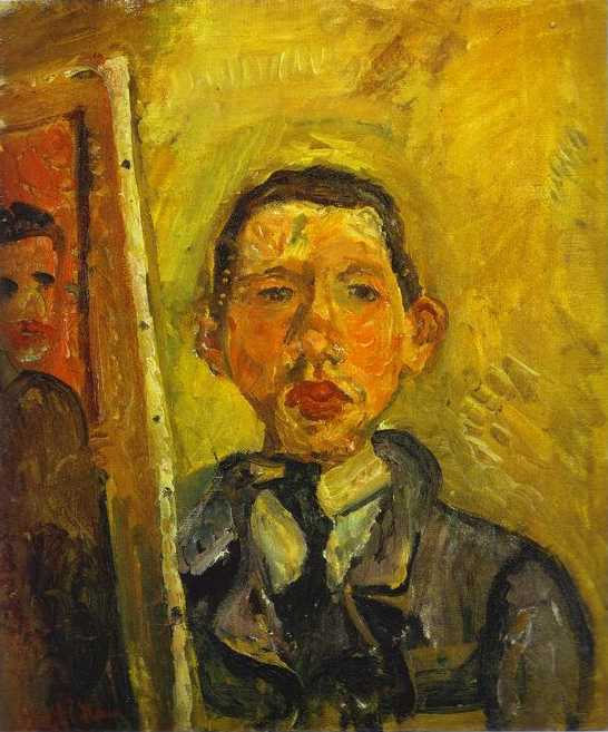 Self Portrait, Soutine,1918